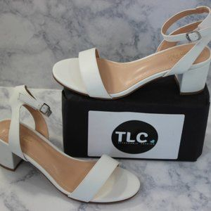 Dream Pairs Carnival Heels Size 9 White